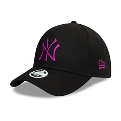 New Era New York Yankees Colour 9Forty Cap - Black & Purple