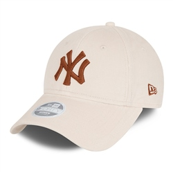 New Era New York Yankees Cord 9Forty Cap - Light Cream