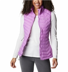 Columbia Powder Pass Gilet - Blossom Pink