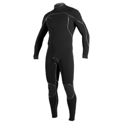 Clothing & Accessories Psycho One 5/4mm Back Zip Wetsuit (2021) - Black