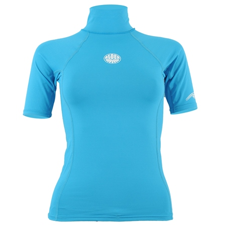 Alder Vapour Rash Vest - Turquoise  - Click to view a larger image