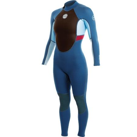 Alder Impact 3/2mm Wetsuit - Blue  - Click to view a larger image