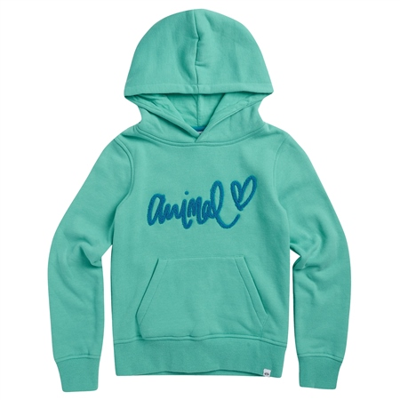 Animal Rachelle Hoody - Turquoise Green Marl  - Click to view a larger image