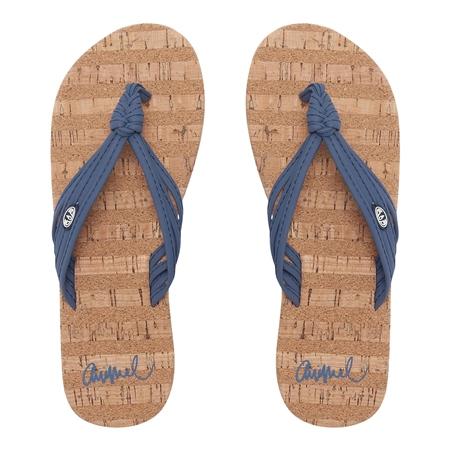Animal Summer Flip Flops - Vintage Indigo Blue  - Click to view a larger image