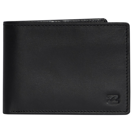 Billabong Vacant Leather Wallet - Black  - Click to view a larger image