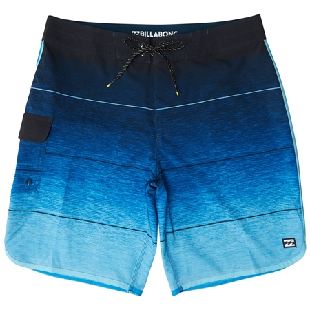 Billabong 73 Stripe Pro Boardshorts - Blue  - Click to view a larger image