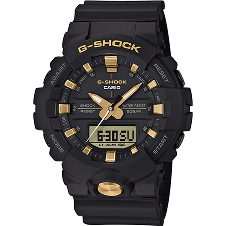 Casio G Shock Watch - Gold & Black  - Click to view a larger image
