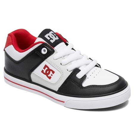 DC Shoes Pure Shoes - Black & Grey  - Click to view a larger image