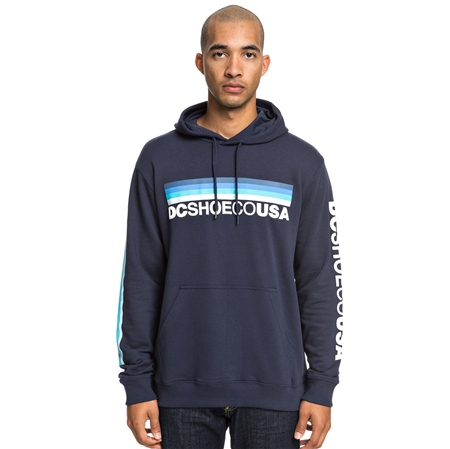 DC Shoes Flag Nine Four Hoody - Blue  - Click to view a larger image
