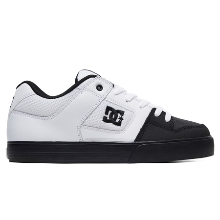 DC Shoes Pure Shoes - White & Black  - Click to view a larger image