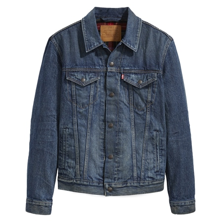 Levi's Lined Denim Jacket - Blue  - Click to view a larger image