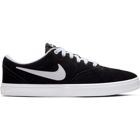 Nike SB Check Solar Shoes - Black & White  - Click to view a larger image