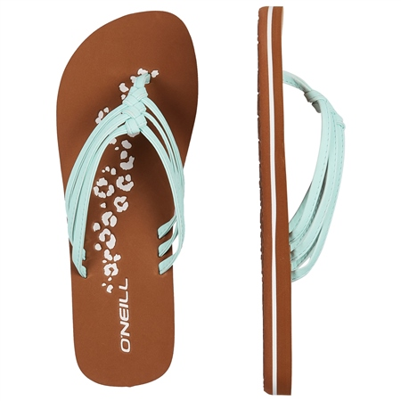 O'Neill 2 Strap Disty Flip Flops - Water  - Click to view a larger image