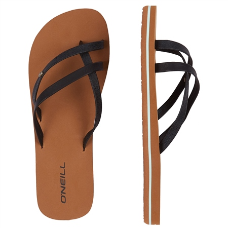 O'Neill Queen II Flip Flops - Alloy  - Click to view a larger image