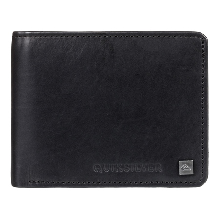 Quiksilver Mack Vi Bi-Fold Wallet - Black  - Click to view a larger image