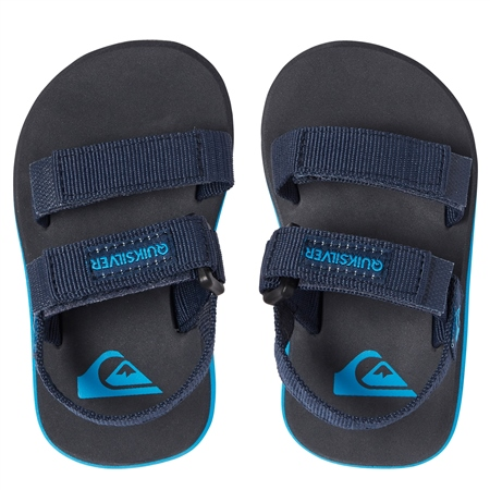 Quiksilver Monkey Caged Sandals - Blue & Grey  - Click to view a larger image