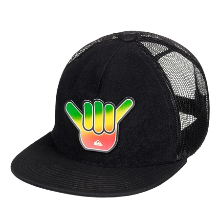 Quiksilver Swaggles Trucker Cap - Black  - Click to view a larger image