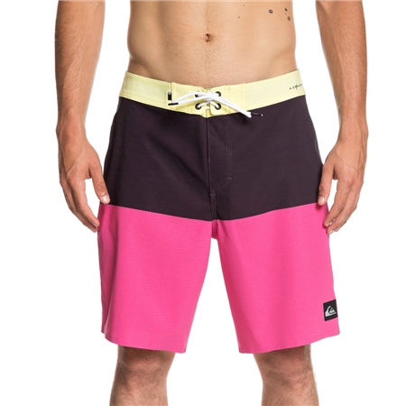 "Quiksilver Highline Division Pro 19"" Boardshorts - Yellow Iris  - Click to view a larger image"