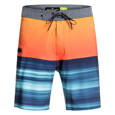 "Quiksilver Highline Hold Down 18"" Boardshorts - Orange  - Click to view a larger image"