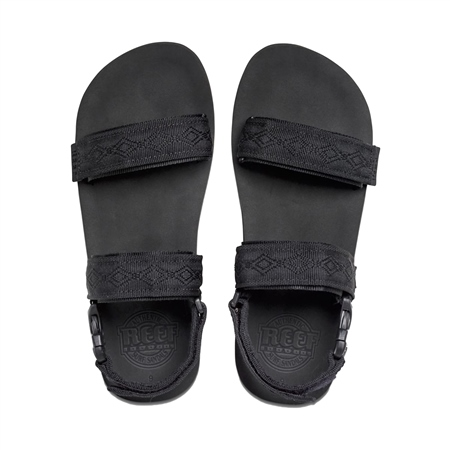 Reef Convertible Flip Flops - Black  - Click to view a larger image