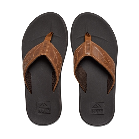 Reef Phantom LE Flip Flops - Brown & Tan  - Click to view a larger image