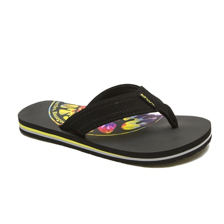 Rip Curl Ripper Flip Flops  - Black  - Click to view a larger image
