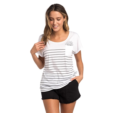 Rip Curl Low Tide T-Shirt - White  - Click to view a larger image
