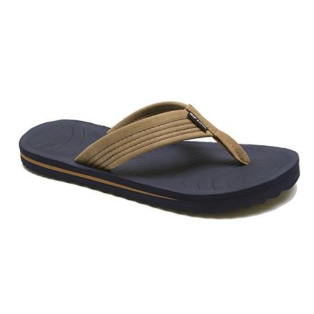 Rip Curl Dbah Flip Flops  - Tan & Blue  - Click to view a larger image