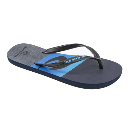 Rip Curl Flyer Flip Flops  - Black & Blue  - Click to view a larger image