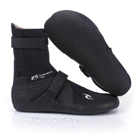Rip Curl FlashBomb 3mm Wetsuit Boots - Black  - Click to view a larger image