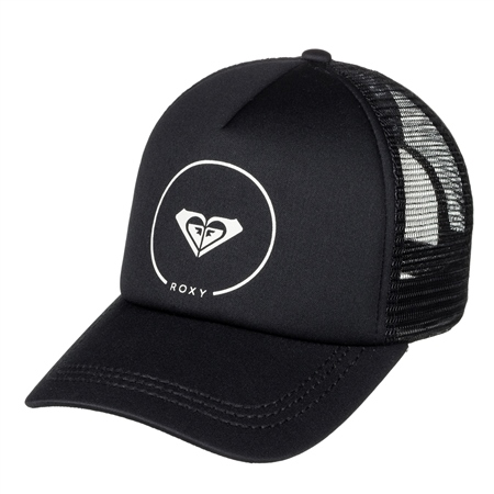 Roxy Truckin Trucker Cap - Anthracite  - Click to view a larger image