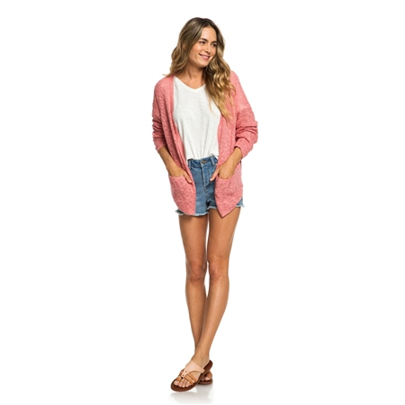 Roxy Liberty Cardigan - Brandied Apricot  - Click to view a larger image