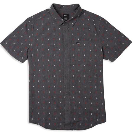 RVCA Aye Kat Shirt - Blue  - Click to view a larger image