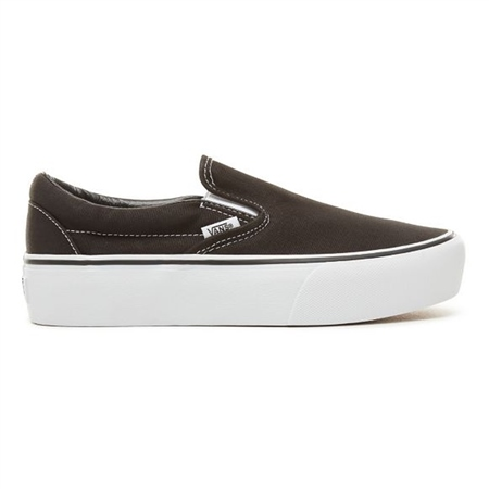 Vans Classic Slip-On Shoes - Black  - Click to view a larger image