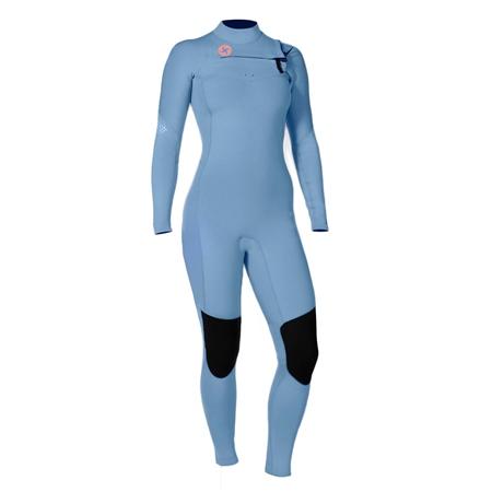 Vissla 7 Seas 4/3mm Wetsuit - True Blue (2019)  - Click to view a larger image