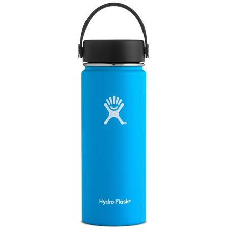 Hydro Flask Wide Mth 18oz Bottle - Pacific  - Click to view a larger image