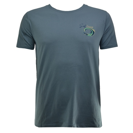 Salt Water Seeker Mens SCWL T-Shirt - Blue  - Click to view a larger image