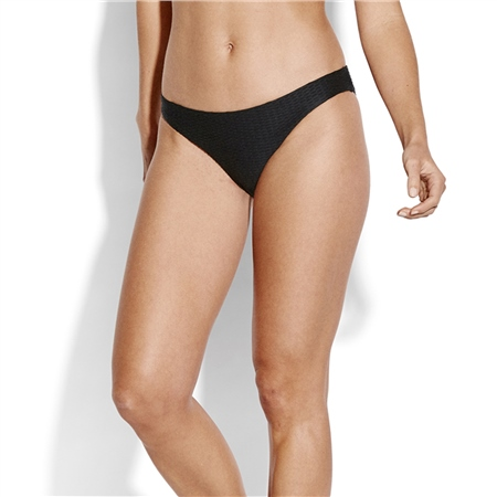Seafolly La Luna Hipster Bikini Bottoms - Black  - Click to view a larger image