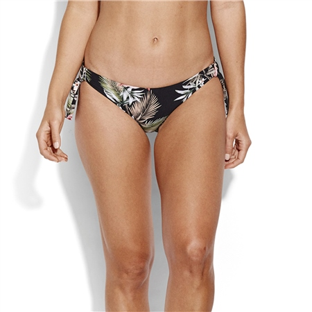 Seafolly O Alley Loop Hipster Bikini Bottoms - Black  - Click to view a larger image