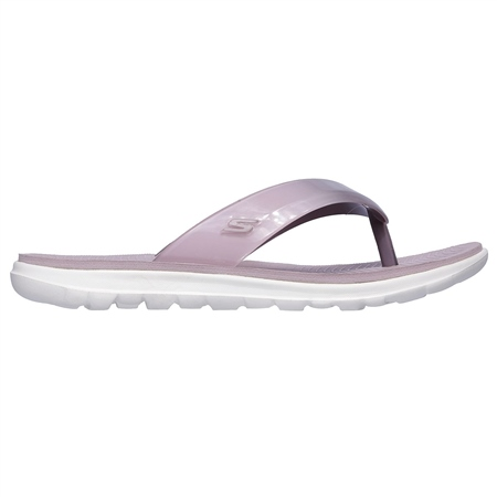 Skechers Nextwave Flip Flops - Lilac  - Click to view a larger image