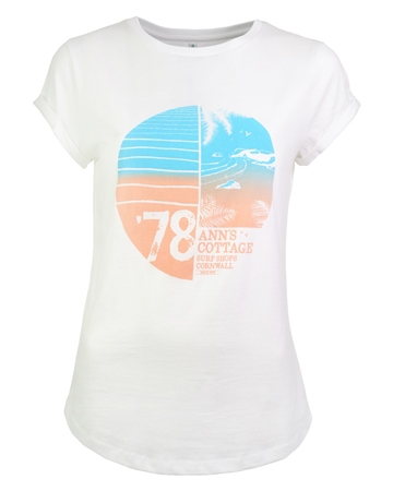 ACS Clothing AC 40th Retro T-Shirt - White  - Click to view a larger image