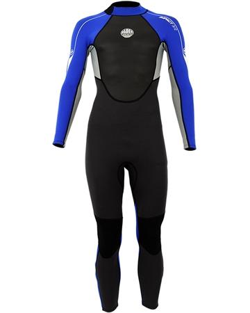 Alder Impact 3/2mm Wetsuit - Royal Blue (2018)  - Click to view a larger image