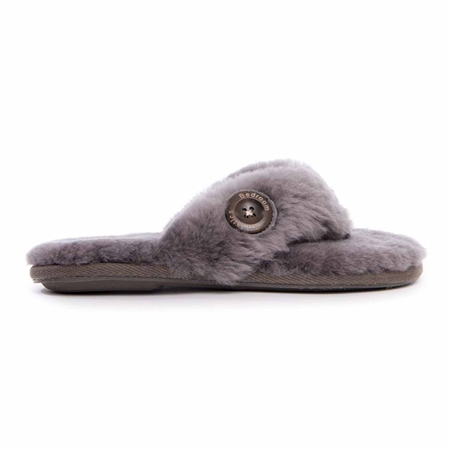 Bedroom Athletics Keira Slippers - Grey  - Click to view a larger image