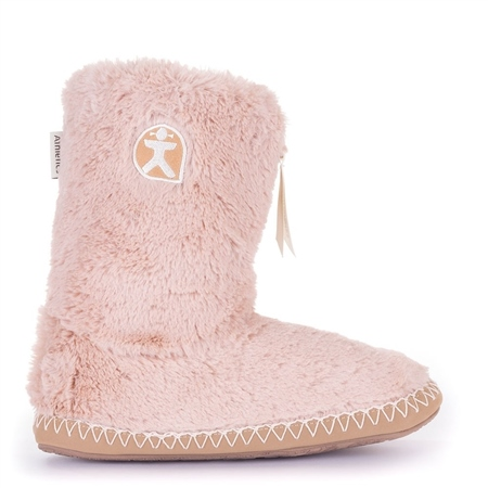 Bedroom Athletics Marilyn Slipper Boots - Pink  - Click to view a larger image