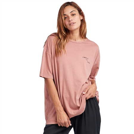 Billabong Chill All Day T-Shirt - Plum  - Click to view a larger image