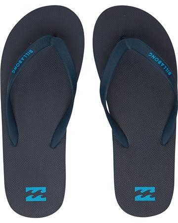 Billabong Tides Solid Flip Flops - Navy  - Click to view a larger image