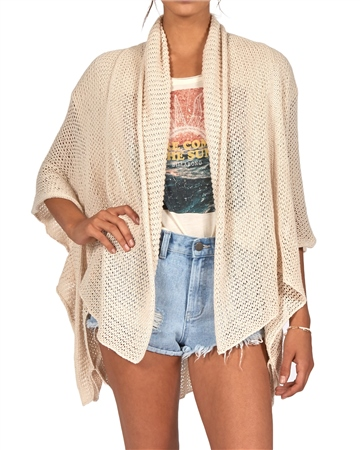 Billabong Pacific Sand Cardigan - Cool Wip  - Click to view a larger image