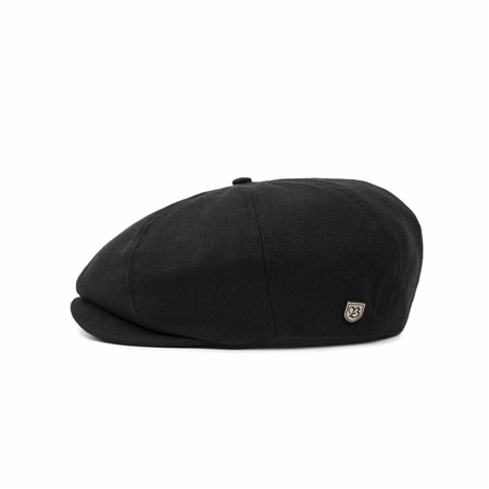 Brixton Brood Snap Cap - Black  - Click to view a larger image