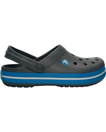 Crocs Adult Cband Shoes - Charcoal & Ocean  - Click to view a larger image