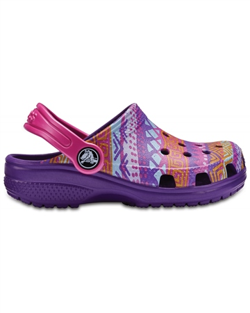 Crocs Classic Graph Clogs - Multi  - Click to view a larger image